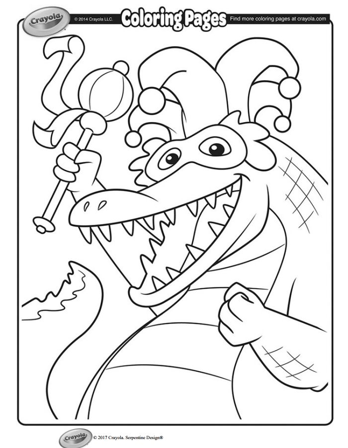 49 Free, Printable Gras Coloring Pages