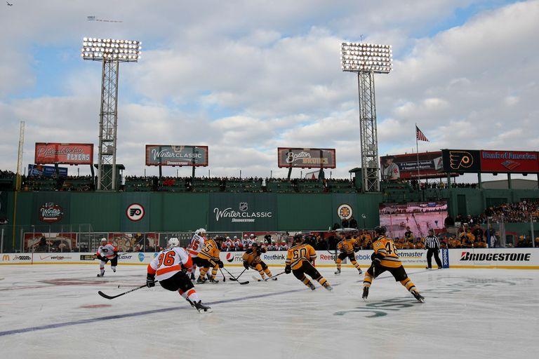 Boston Bruins, Fenway Park