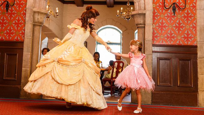 Belle and young girl