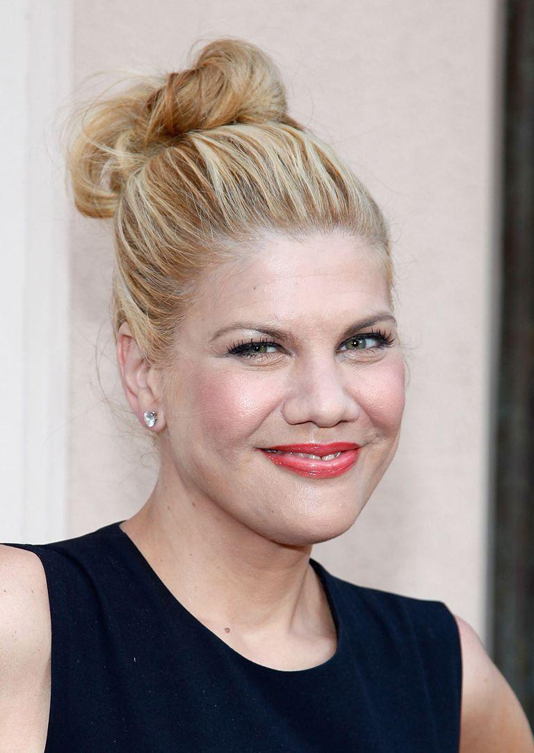 Lupus myelitis. Actor Kristen Johnston