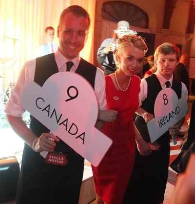 The World Draught Masters in Montreal October 25, 2012 at the Chalet du Mont-Royal.