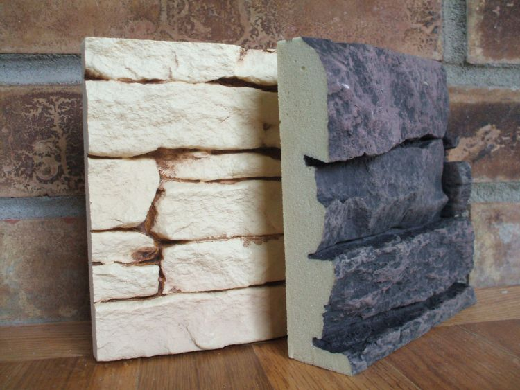 Basics of faux stone veneer looks and durability for How to paint faux marble wall