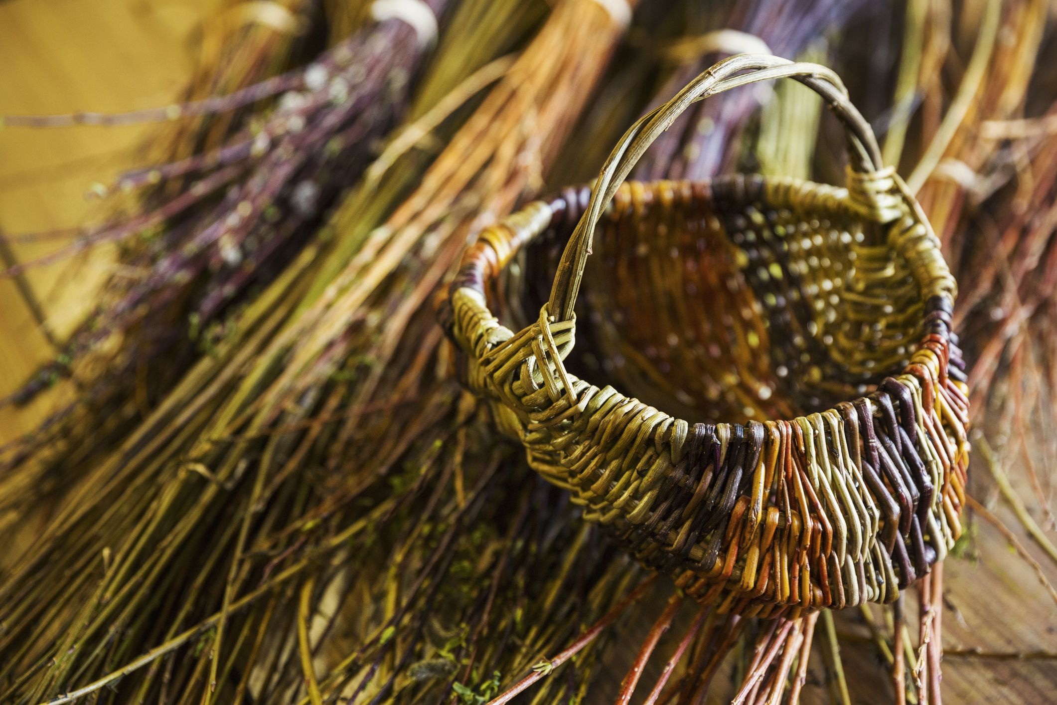 Learn To Make Weave A Range Of Miniature Baskets
