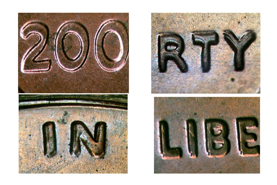 2006 Doubled Die Lincoln Cent Obverse