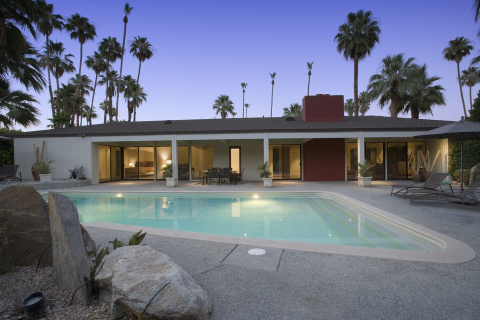 Updated Mid-Century Home with Swimming Pool