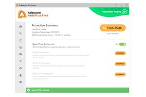 Screenshot of Adaware Antivirus