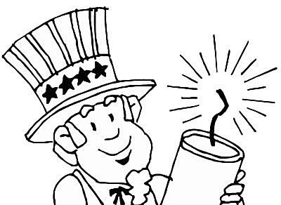 Free 4th Of July Coloring Pages At Coloringws