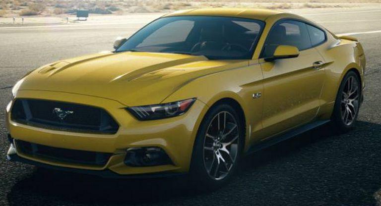 Triple Yellow 2015 Mustang