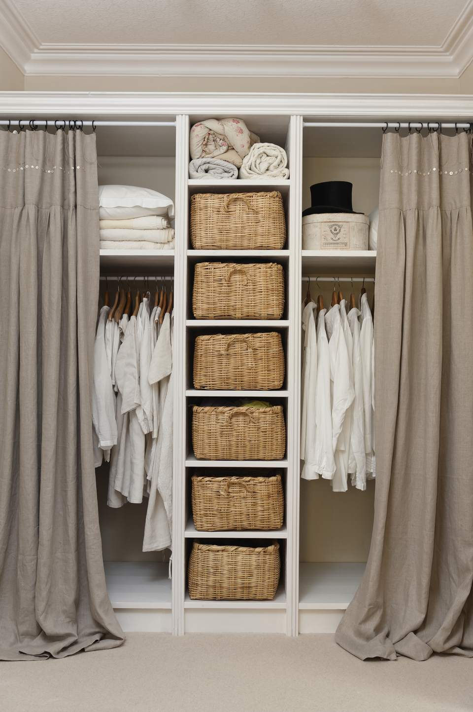 organizing tips store storage shelving your for closet units opt