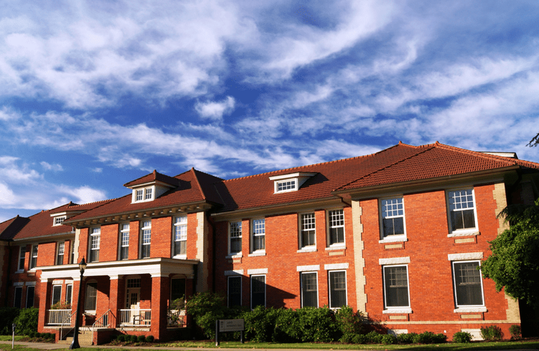 Jarvis Residence Hall on central campus at ECU.