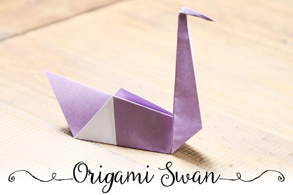 Origami Swan Tutorial