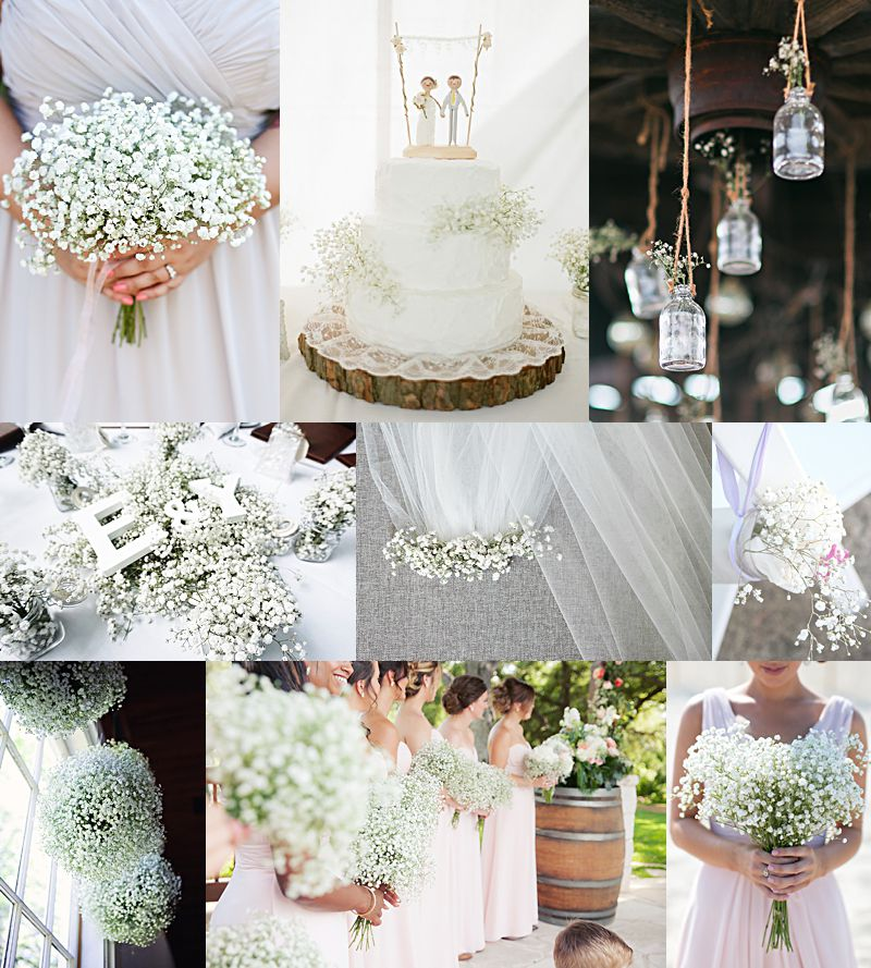 25 Inspiring Ways To Use Baby S Breath In Your Wedding