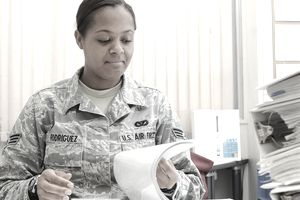 Senior Airman Victoria Rodriguez, 374th Civil Engineer Squadron