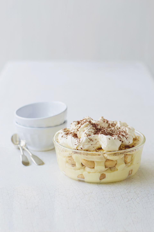 banana pudding with wafers