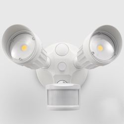 The 7 best outdoor motion sensor lights to buy in 2018 20w dual head motion activated led outdoor security light photo sensor 3 modes workwithnaturefo