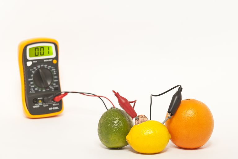 Don't have a battery? Try using a lemon or other citrus fruit.