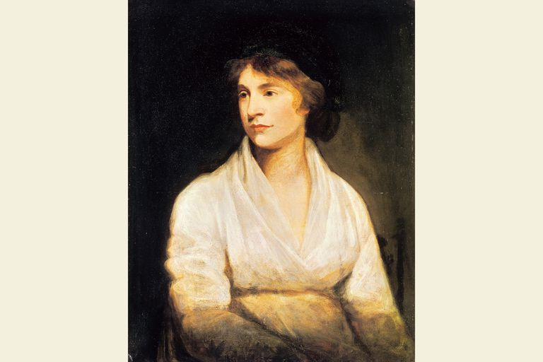 Mary Wollstonecraft - painting by John Odie, about 1797