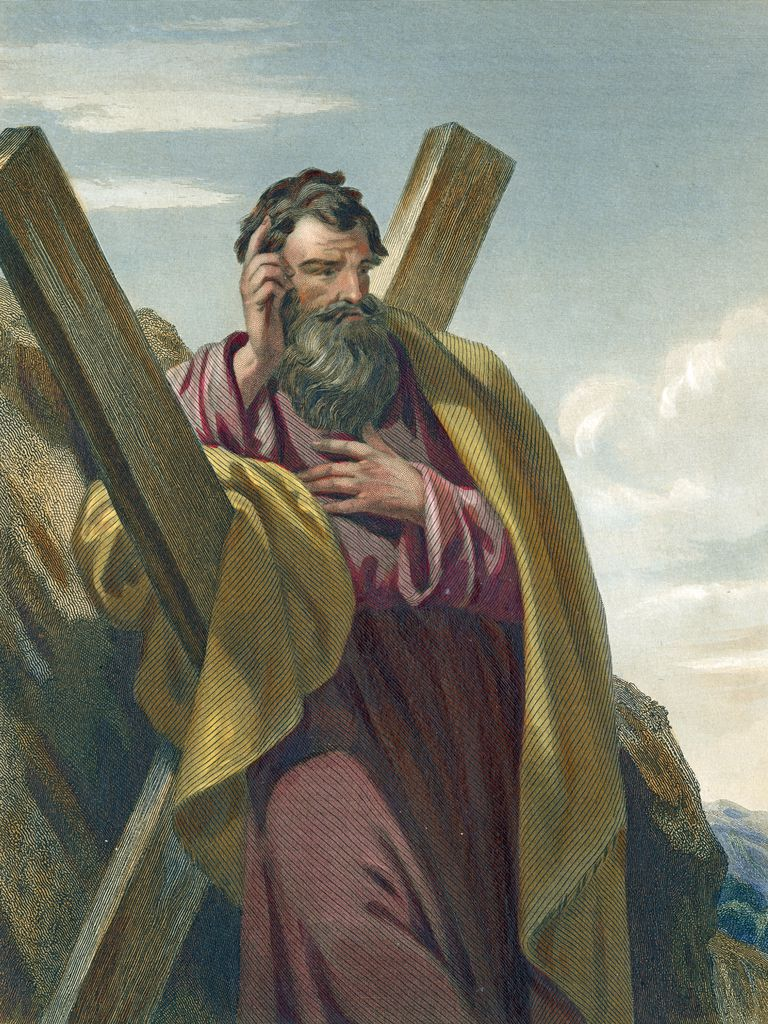 the apostle andrew led others to jesus christ