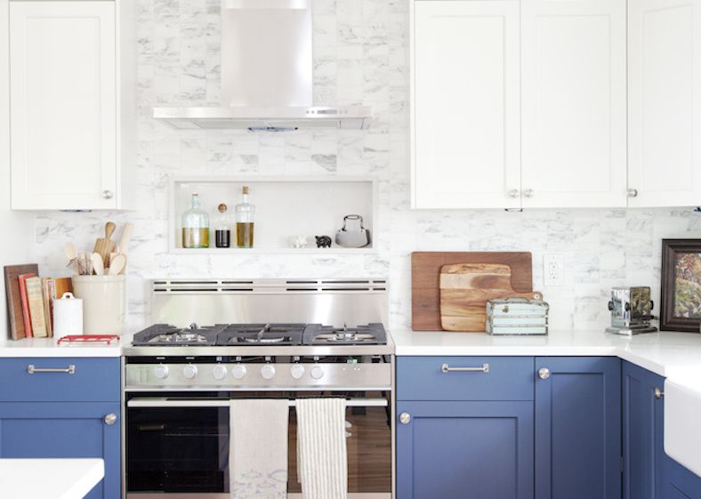 white color kitchen. Fresh Blue and White Color Kitchen 15 Beautiful Feng Shui Colors