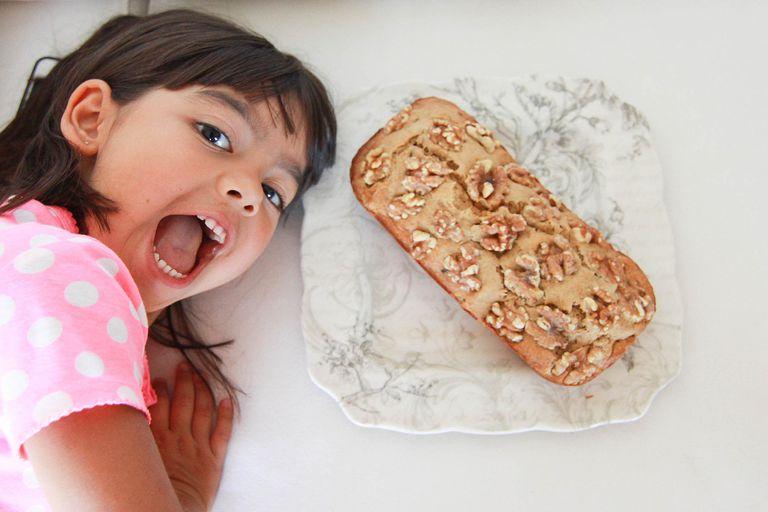 Receta de banana bread o queque de pl tano for Cocinar a 40 grados