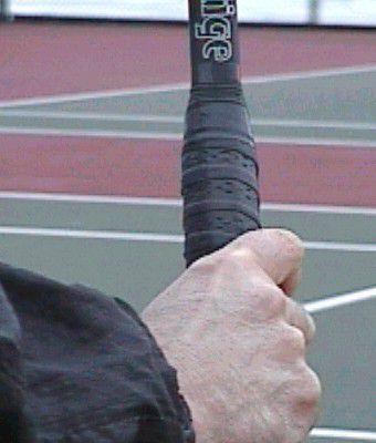 Full Eastern Backhand Grip