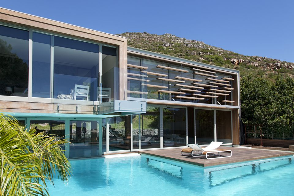 modern pool in south africa - Nice Houses With Swimming Pools