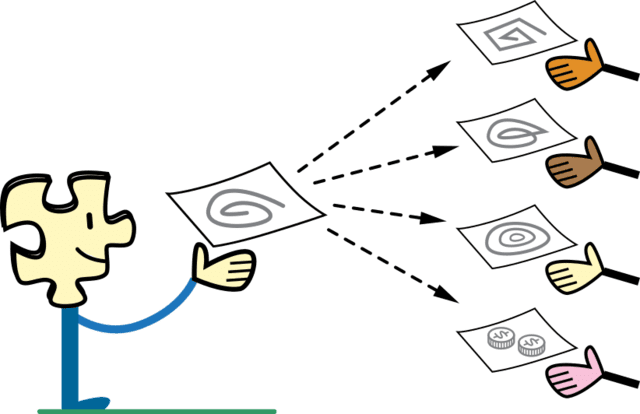File sharing graphic
