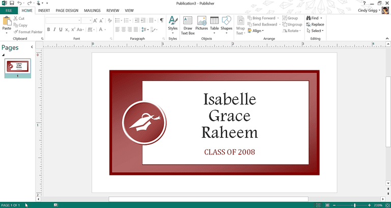 Get microsoft 39 s best graduation templates for Name badges templates microsoft word