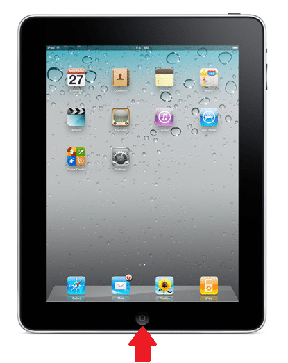 The iPad's Home Button