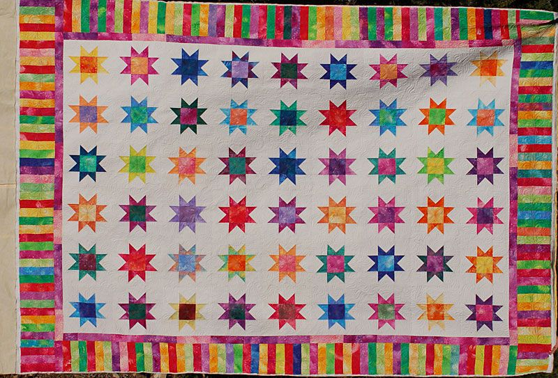 Pictures Of Star Quilts To Inspire Your Next Project