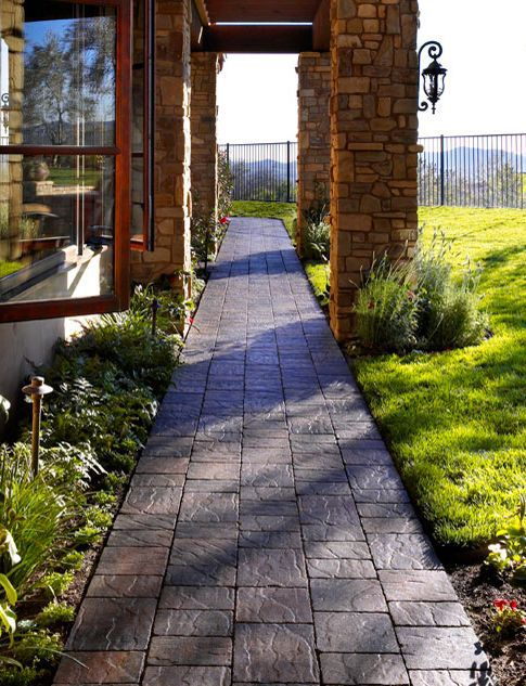 Front Walkway Ideas: Bring Path Along Side of House, Not Straight In