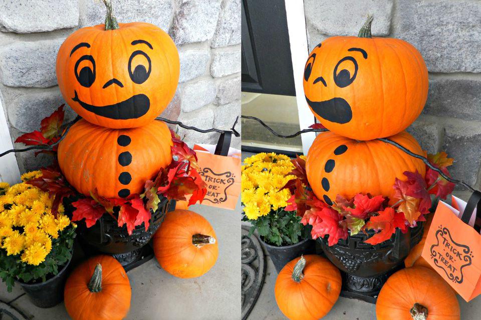 Pumpkin-topiary