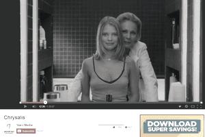 Screenshot of the movie Chrysalis on YouTube