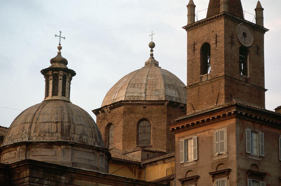 Santa Maria del Popolo in Rome: Domes