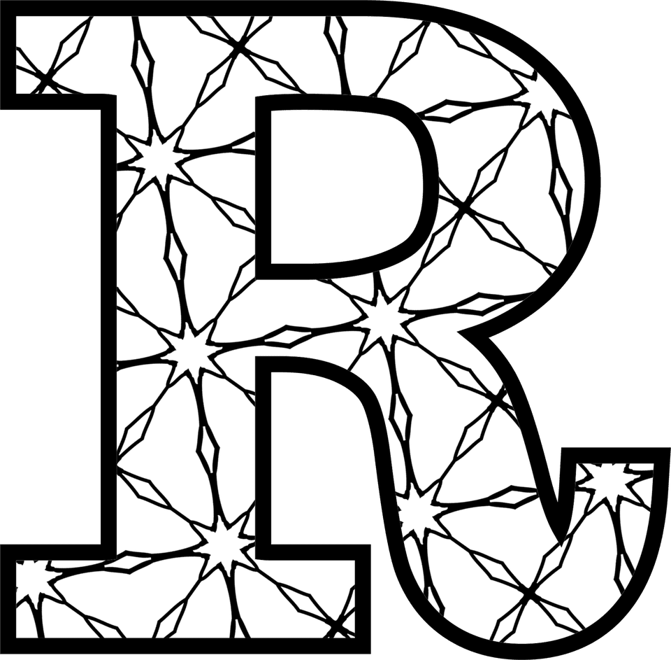 letter r printable coloring pages - photo#41