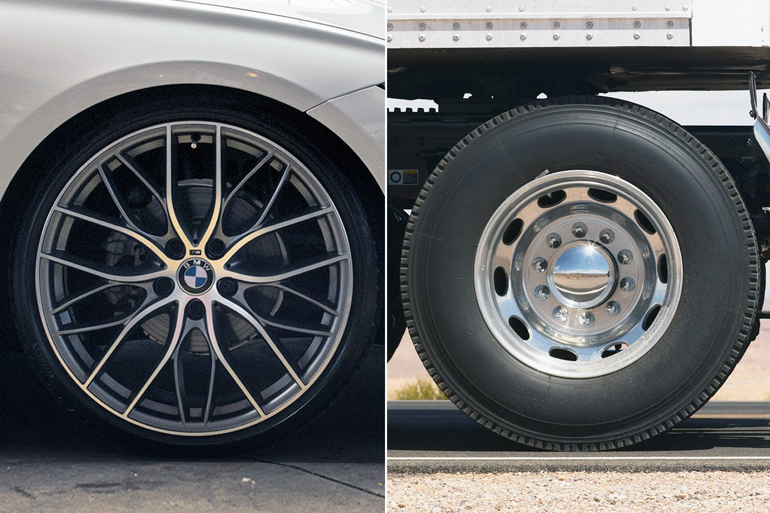 Alloy vs steel wheels beauty and the beast