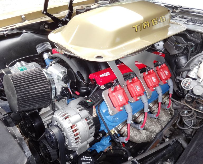 Repowered and Modified 1979 Trans Am