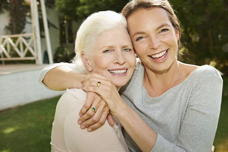 Hugging a Loved One with Alzheimer's
