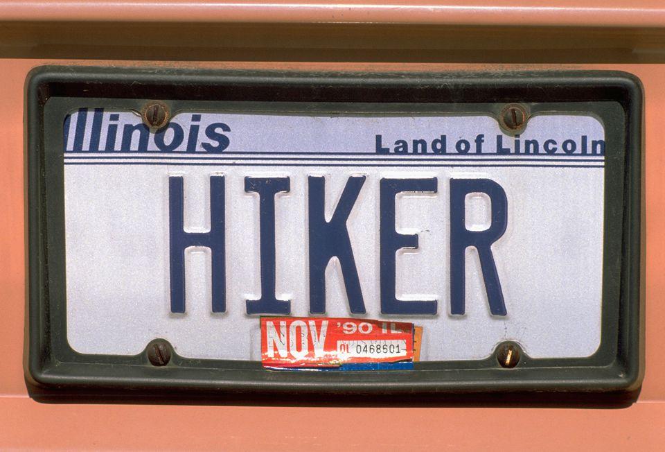Illinois license plate