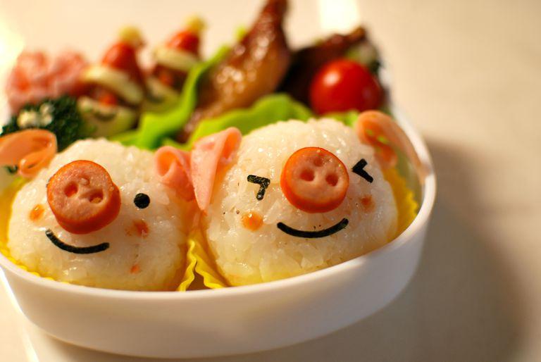 Lunch box piglet