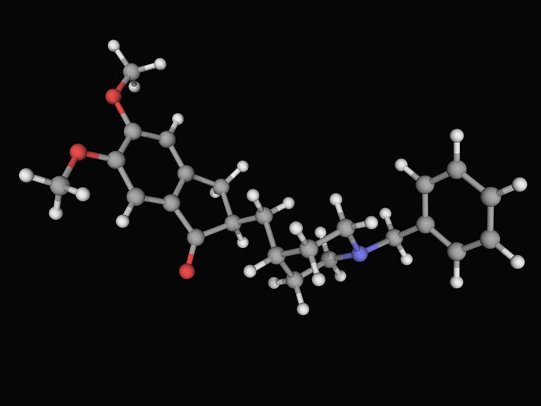 Donepezil Molecule- Treatment for Alzheimer's