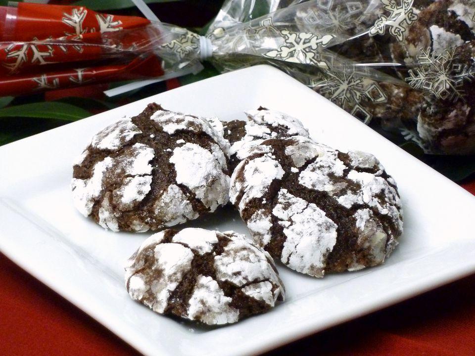 image, photo, brownie cookies recipe, crackle top, chocolate, dessert, receipts