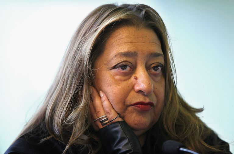 Architect Zaha Hadid in 2011