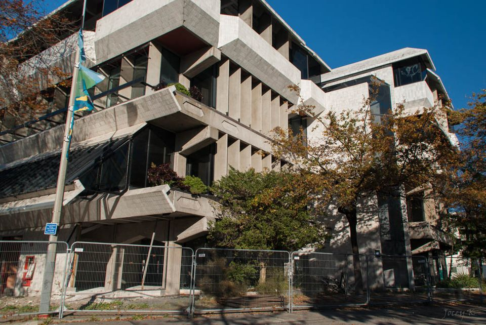Seattle 2001 Earthquake Damage, Christchurch Central Library