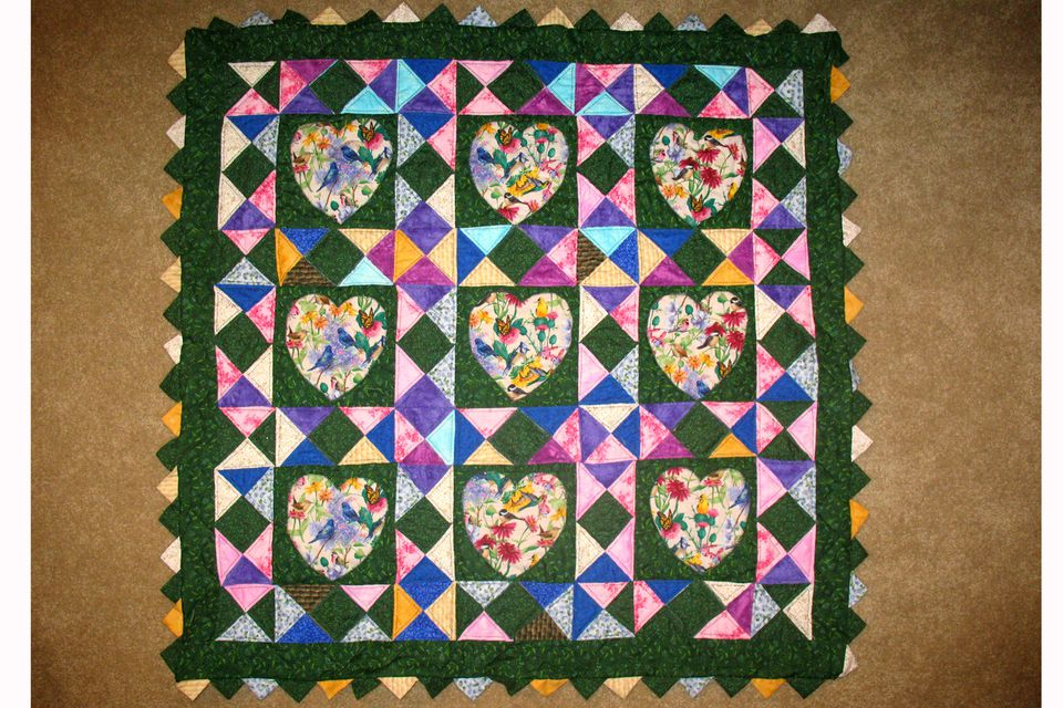 How to Make Prairie Points for Quilts : quilts photos - Adamdwight.com