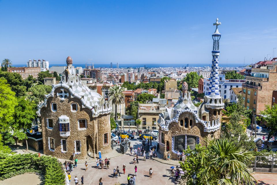 On The Antoni Gaudi Trail In Barcelona