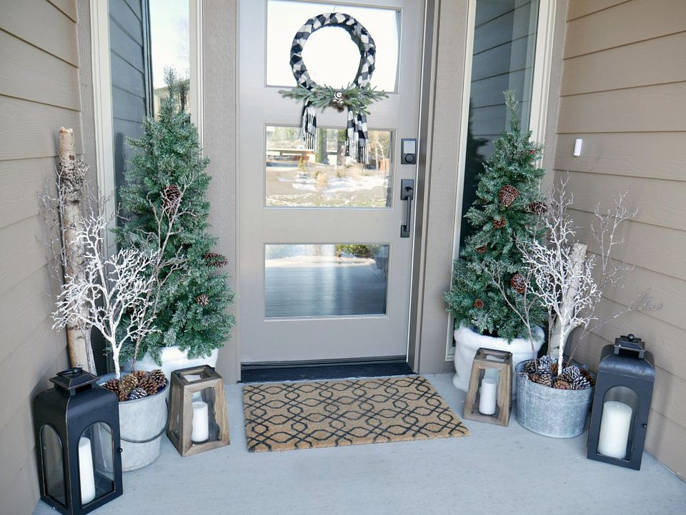 decorating you vintage porch porches me want ll stunning copy eight front rustic virtual of ideas bloggers holidays christmas decor lodge the to join decorated for tours