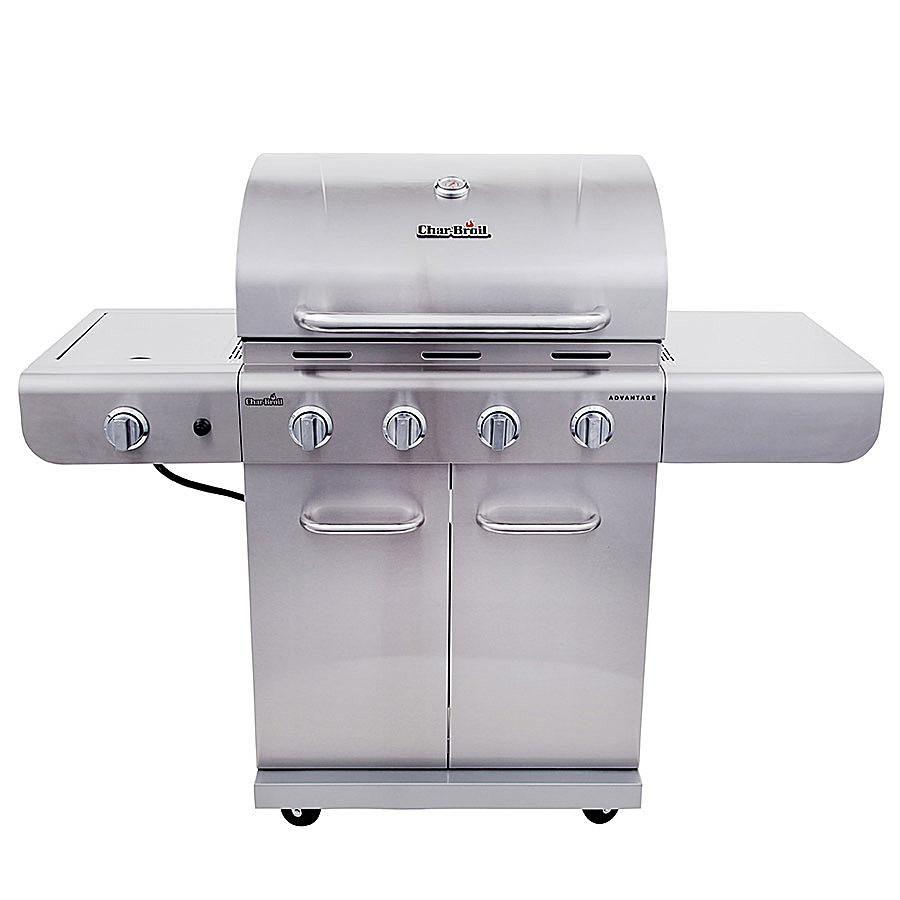 a look at the char broil advantage 4 burner gas grill model 463344116. Black Bedroom Furniture Sets. Home Design Ideas