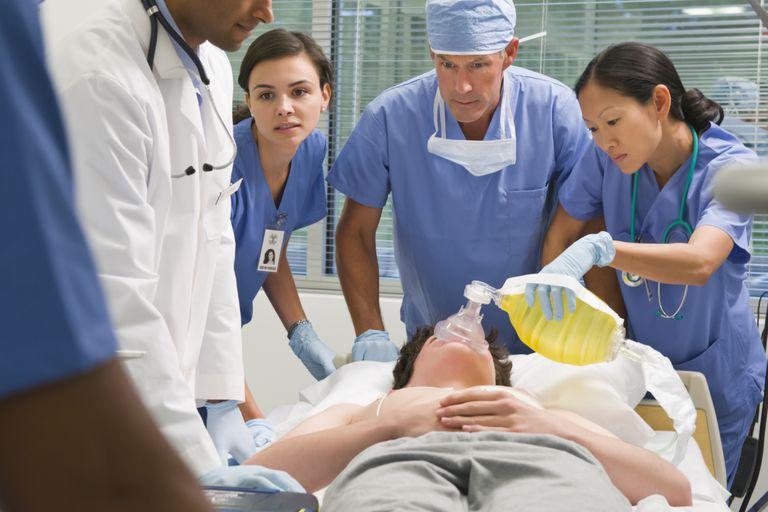 Patient in E.R.