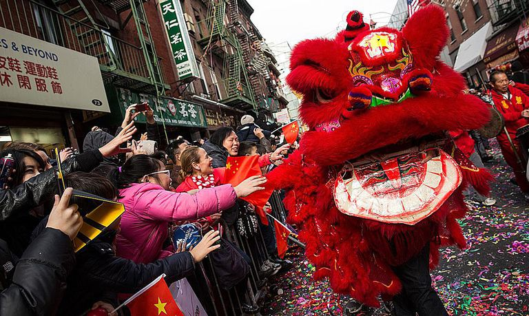 Chinese New Year Parade Held In New York City's Chinatown
